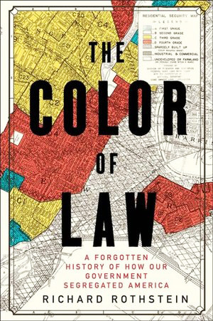 Richard Rothstein, the author of The Color of Law, will be speaking Thursday evening, Dec. 13, at 7 p.m. at Temple Beth El in Providence.