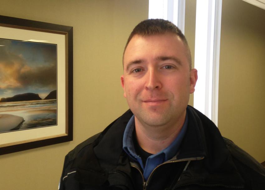 Jarrod Pinette, the Central Falls emergency medical services coordinator.