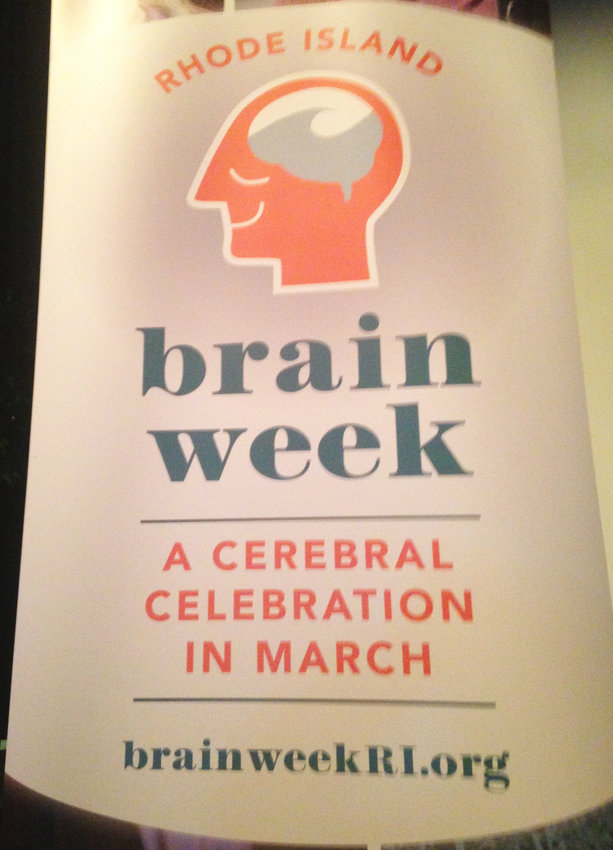 "A week-long ""cerebral celebration"" marked BrainWeek RI, an effort to engage in conversation with the public around brain research in Rhode Island."