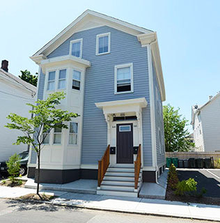 "A house featured in HousingWorks RI's website in the section, ""Keeping homes affordable for the long-term."""