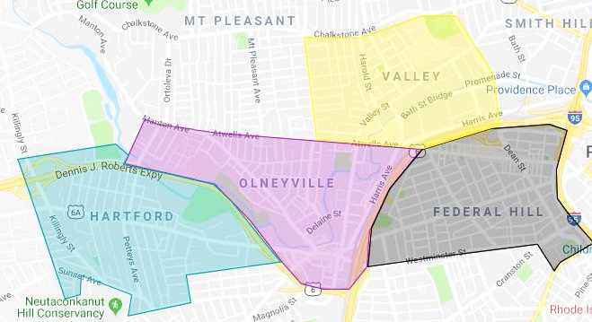 The Health Equity Zone serving Olneyville will be expanding to serve adjacent neighborhoods in Federal Hill, Hartford and Valley, according to ONE Neighborhood Builders, the local HEZ backbone agency.