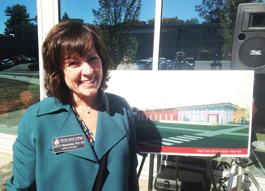 Lynn Blanchette, Ph.D., RN, the associate dean at the Rhode Island College School of Nursing.