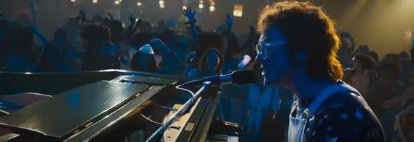 "A scene from the movie, ""Rocketman,"" a biopic of Elton John."