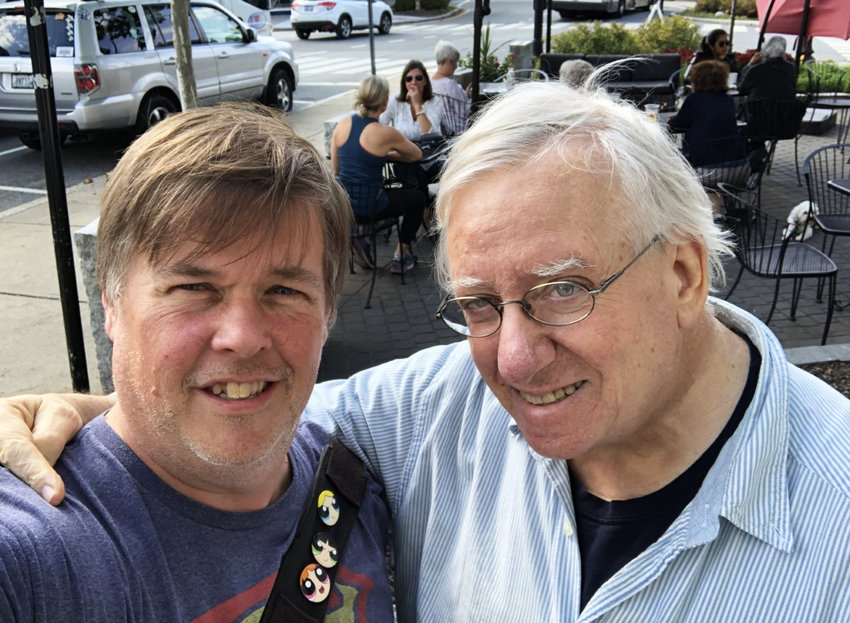 Steve Ahlquist, left, and Richard Asinof,