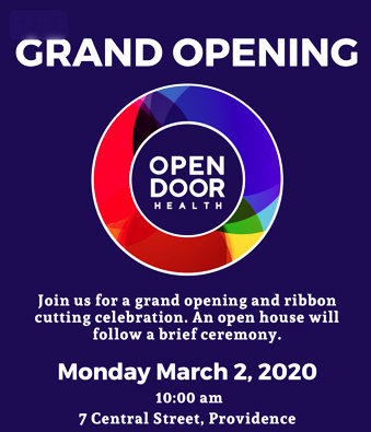 The state's first LGBTQ health clinic, Open Door Health, will officially open on March 2.