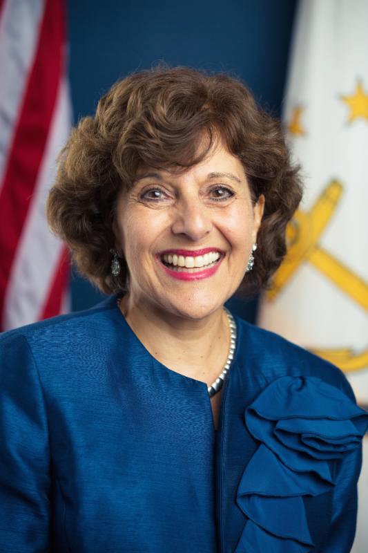 Marie Ganim, the R.I. Health Insurance Commissioner