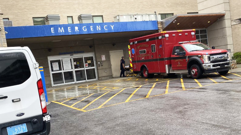 "The diversion of ambulances from Landmark Medical Center in Woonsocket and Kent Hospital in Warwick has become ""situation normal"" at the Emergency Room at Miriam Hospital, according to nurses there, causing three-hour-long delays in patients being seen."