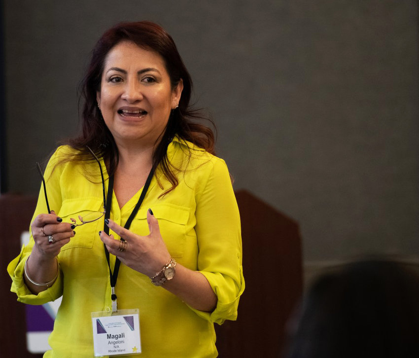 Magali Angeloni, DrPH, MBA, the director of the Master of Public Health Program at the College of Graduate and Professional Studies at the New England Institute of Technology.