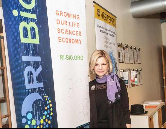 Carol Malysz, the executive director of RI Bio, a life sciences industry association that serves as a catalyst to promote the research enterprise in Rhode Island.
