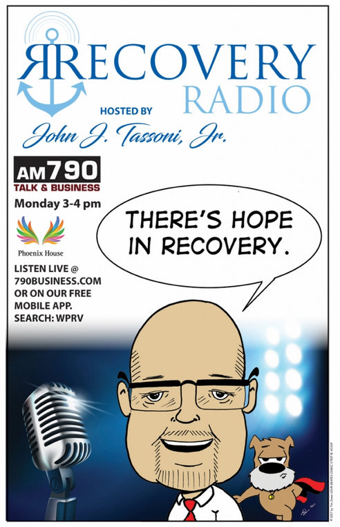 For five years, John Tassoni, Jr., has been the host of a weekly Recovery Radio show on AM 790.