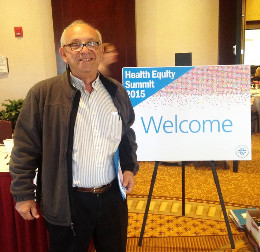 Dr. Peter Simon at the 2015 Health Equity Summit