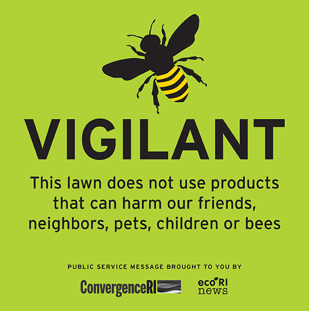 Reprint this sign and put it on your lawn as a positive step to say no to toxic lawn chemicals.