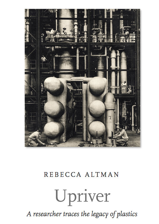 """The first page of Rebecca Altman's story, """"Upriver,"""" illustrated by Ansel Adams' photographs."""