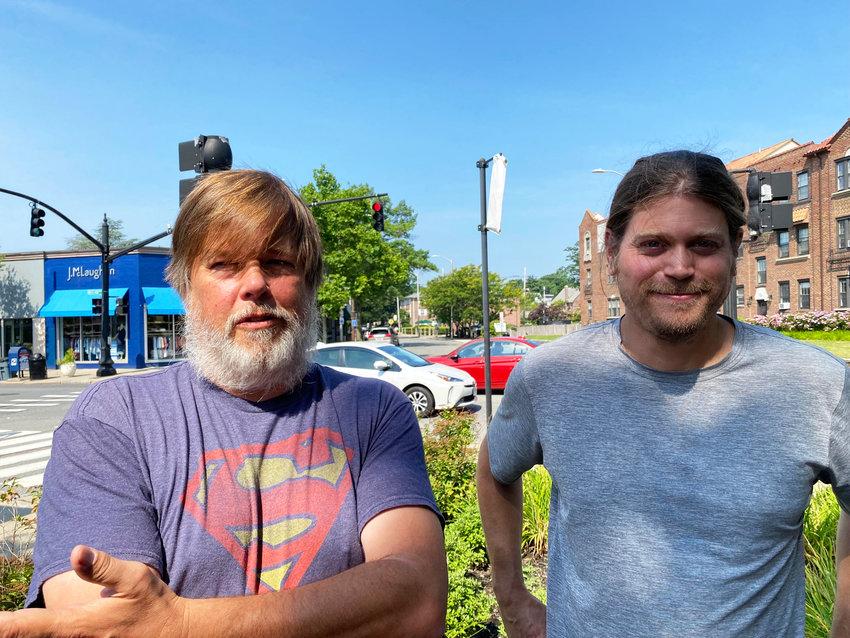 Steve Ahlquist, left, and Bill Bartholomew.