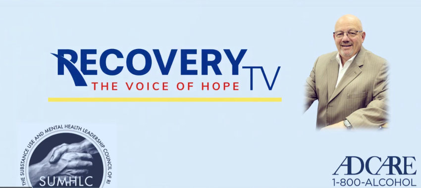 A new TV program, RecoveryTV RI, will begin airing on Sunday morning, Sept. 19, hosted by John Tassoni, Jr., produced in partnership with Channel 12 WPRI.