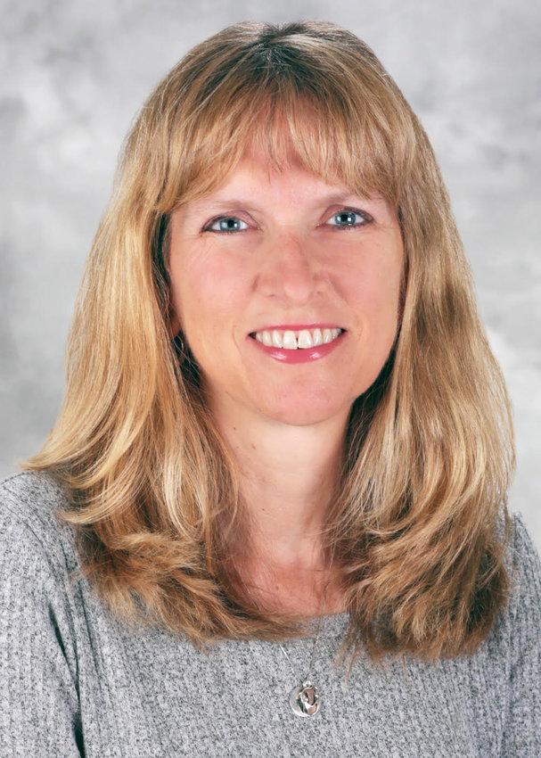 Dr. Elizabeth Lange, MD, the president of the R.I. Medical Society.