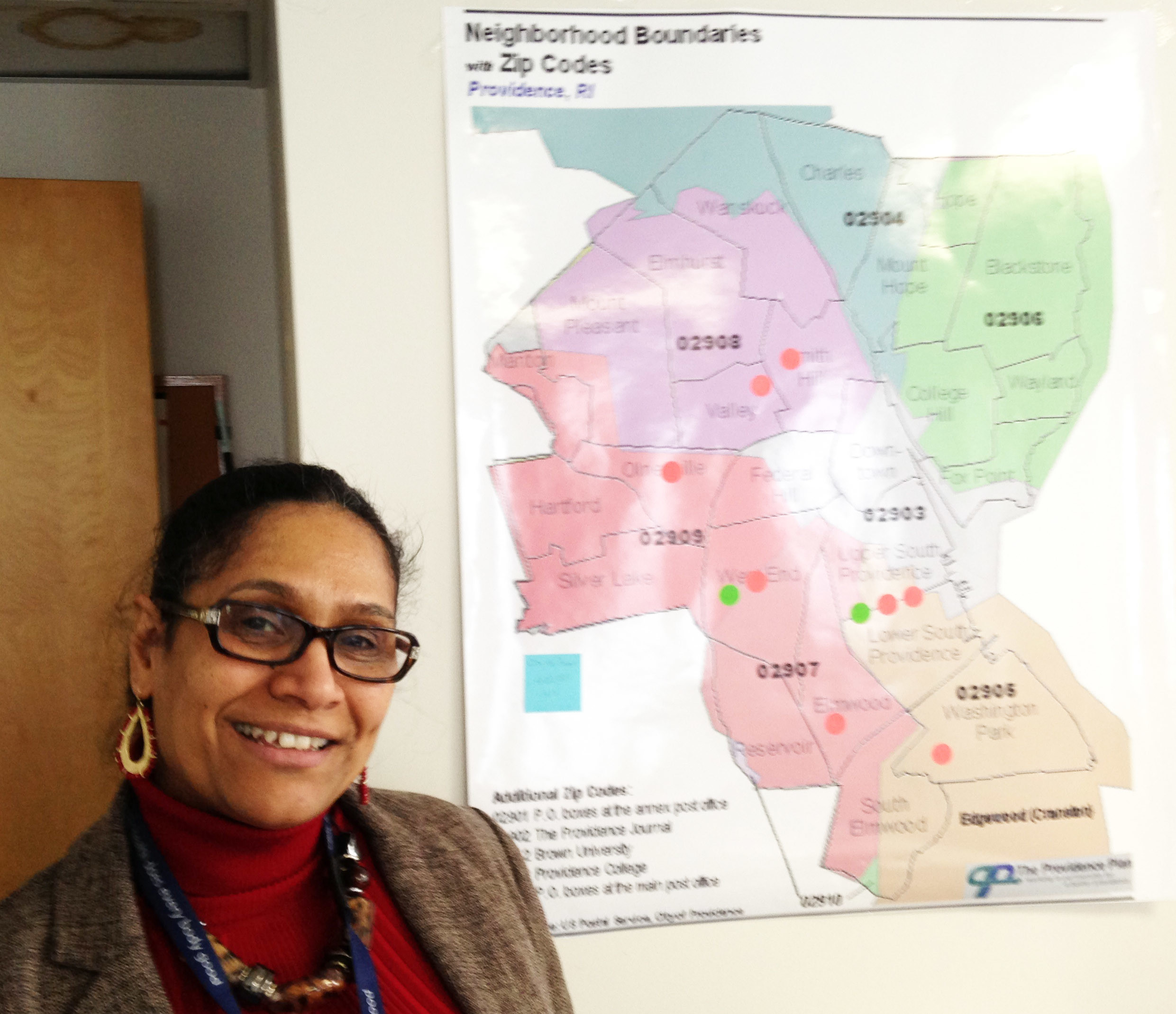 Ana Novais, the executive director of the Division of Community, Family Health and Equity at the R.I. Department of Health, is coordinating the new initiative to create 11 Health Equity Zones, one in each county in Rhode Island.