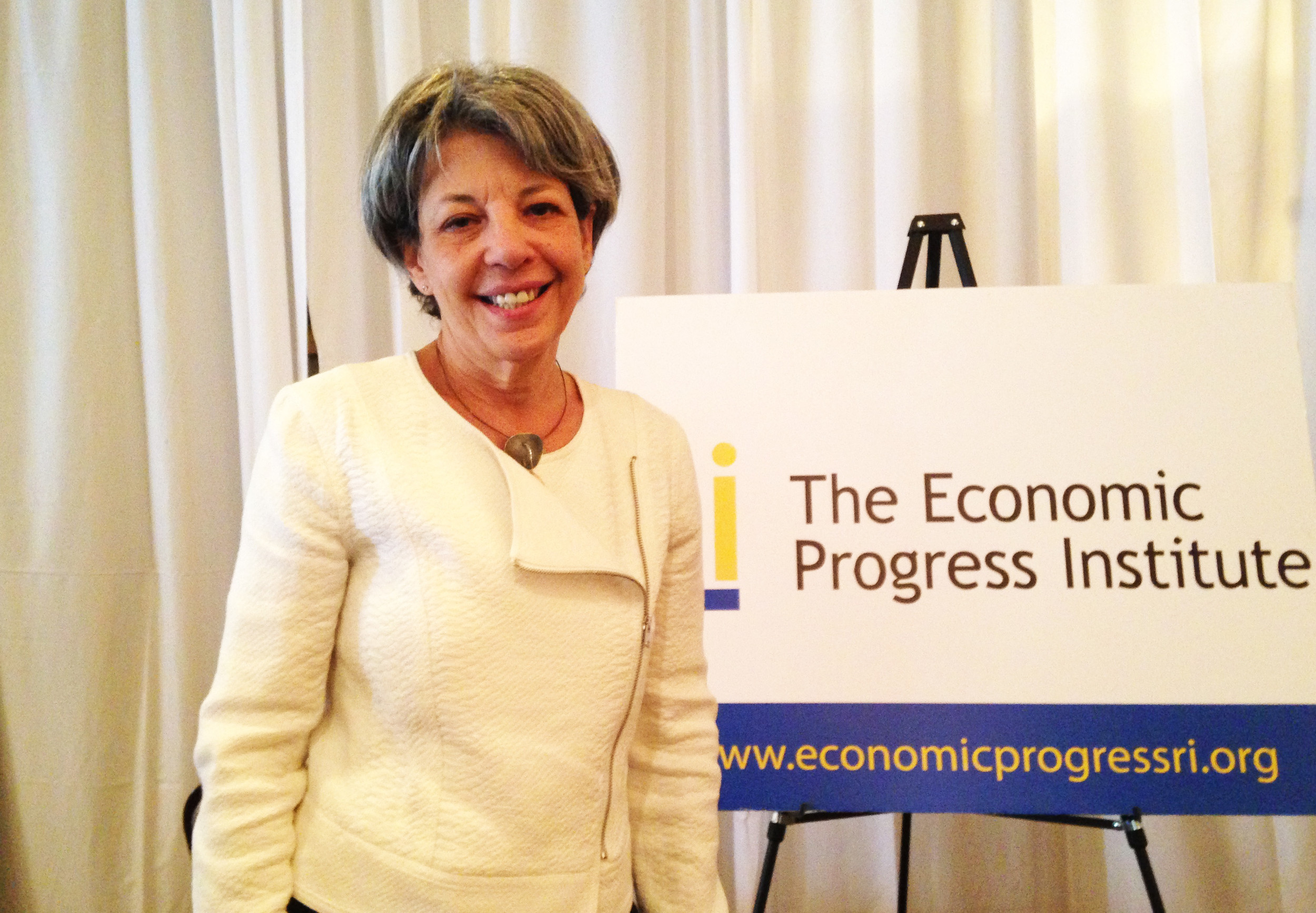 Cindy Mann, the former national Medicaid director, was the keynote speaker at The Economic Progress Institute's 7th annual policy and budget conference on May 8.