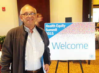Dr. Peter Simon at the recent 2015 Health Equity Summit