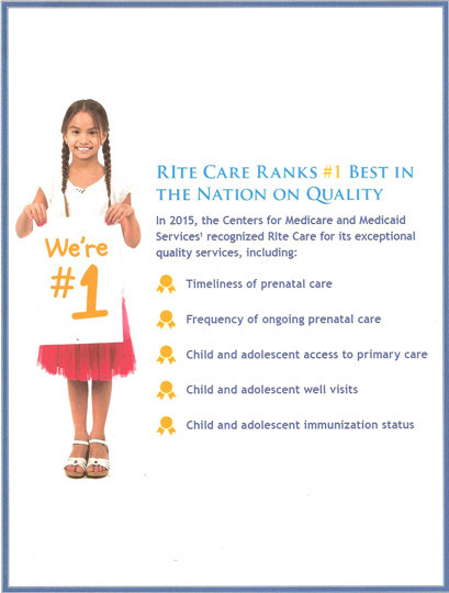 The centerpiece at the Rhode Island KIDS COUNT celebration of children's health in Rhode Island focused on the number-one national ranking of RIte Care in quality measures.