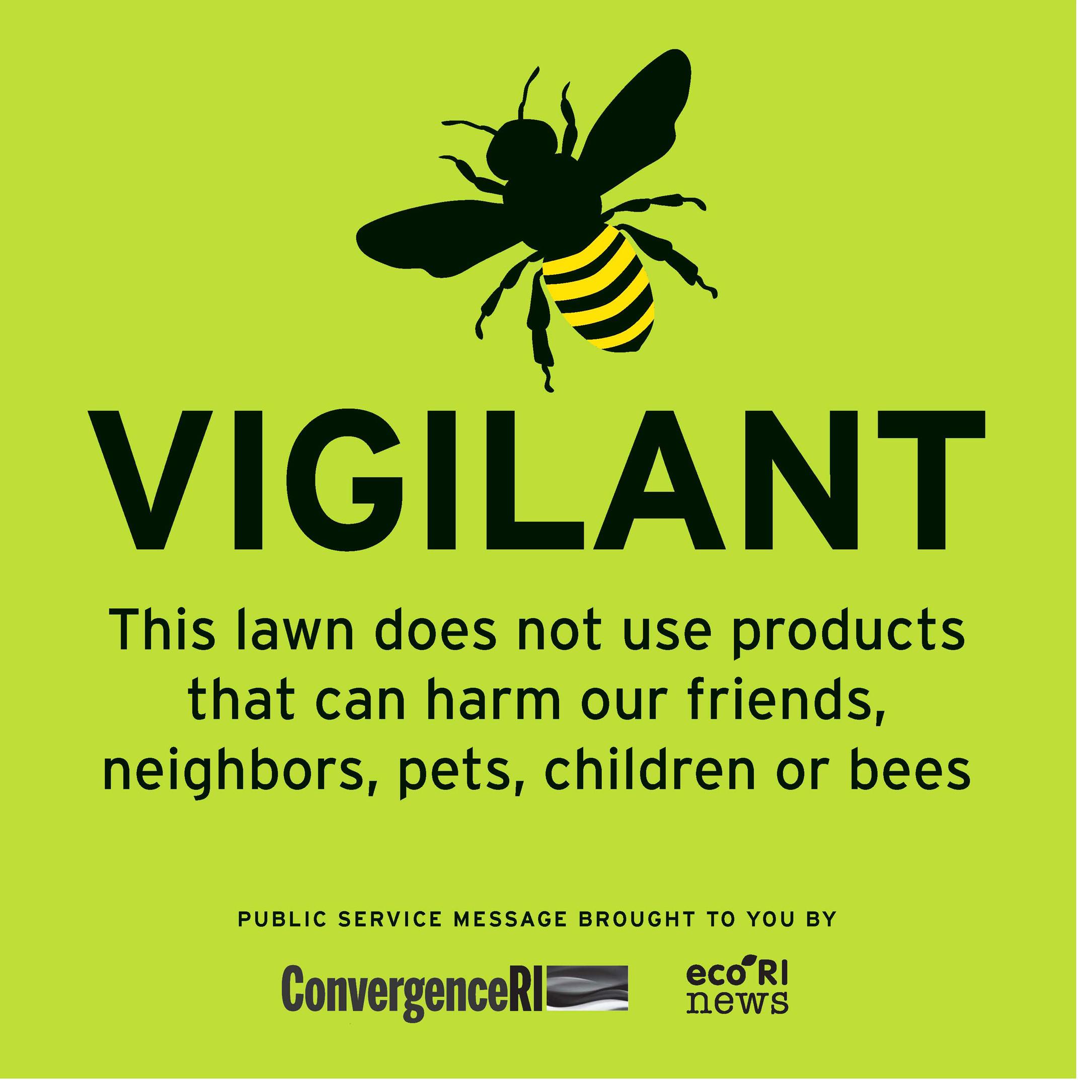 Will you Bee Vigilant? - ConvergenceRI