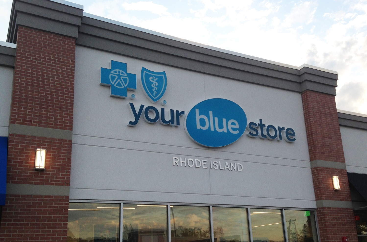 "The new Your Blue Store in East Providence, which was featured on a tour organized by Design Is Rhode Island to highlight the design implemented to create the concept of ""Your Blue Path,"" with a focus on prevention and wellness."