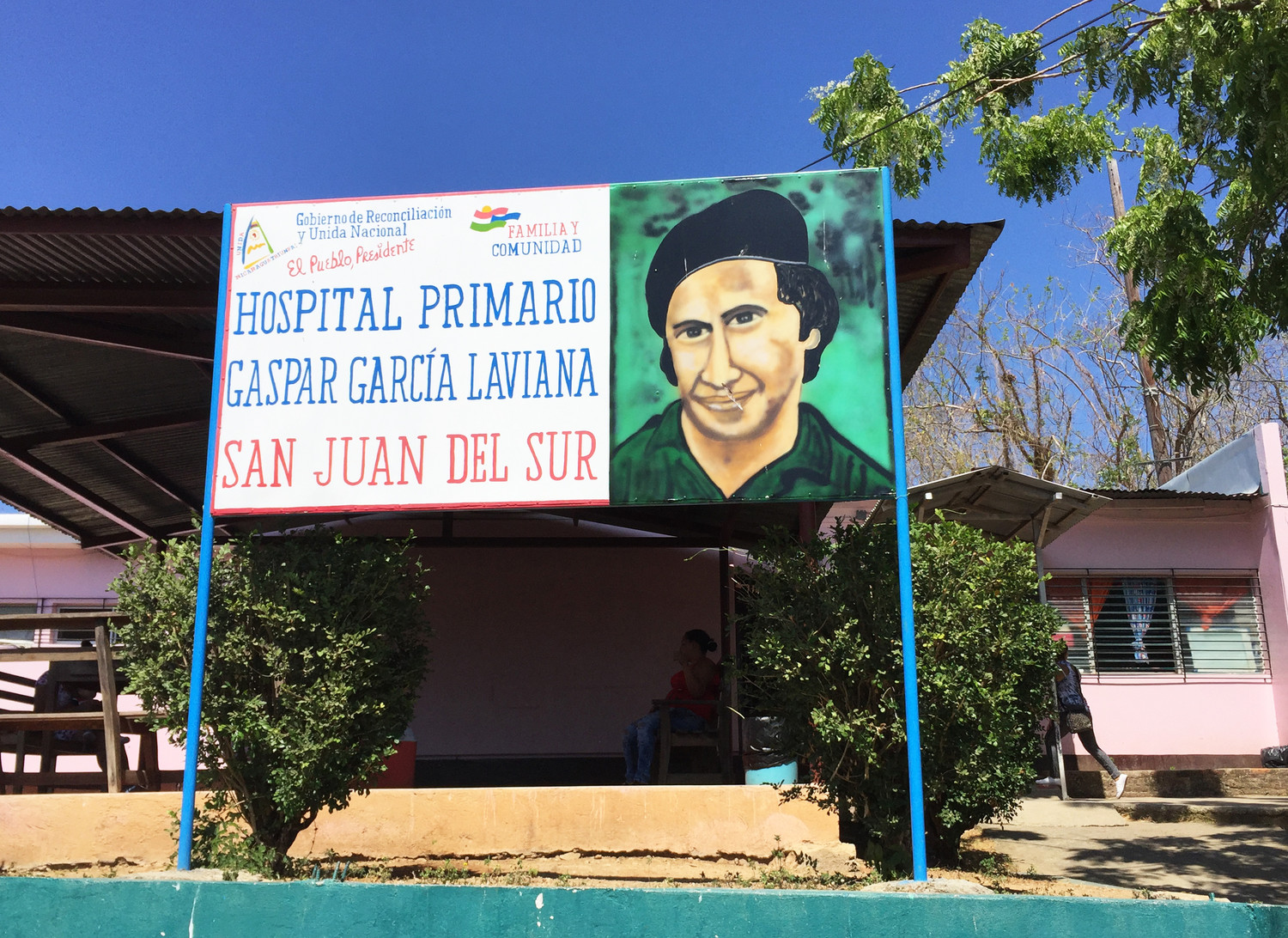 The community health clinic delivering primary care in San Juan Del Sur in Nicaragua.