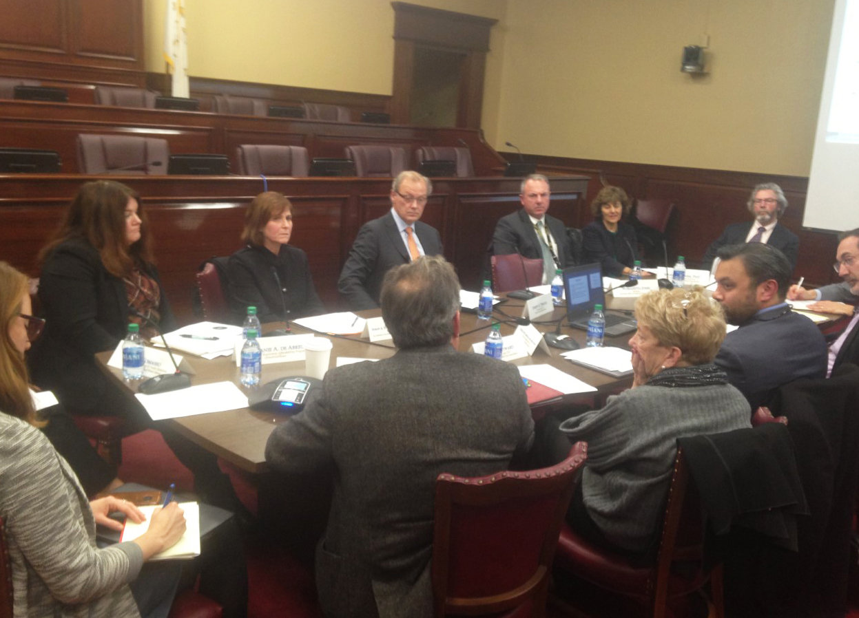 The first meeting of the new legislative commission on rate reimbursement and health access was held on Nov. 20.