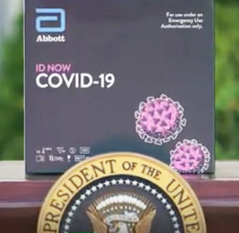 "The ""ID Now"" medical testing kit developed by Abbott, promoted by President Donald Trump and deployed by CVS in Rhode Island at the drive-through testing facility in Lincoln has been found in studies to produce a high level of false negatives."