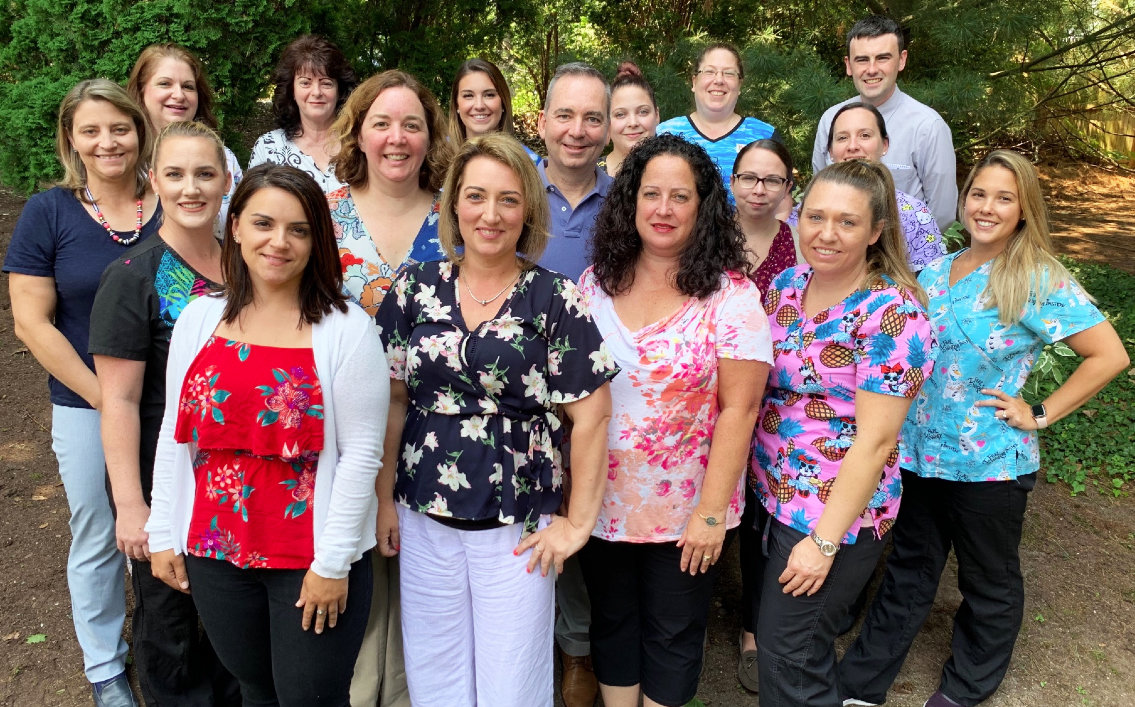 Barrington Pediatric Associates, with eight physicians and one nurse practitioner supported by a strong team of nurses, medical assistants, practice manager and a newly-added licensed mental health clinician. The practice joined PCMH Kids in 2017.