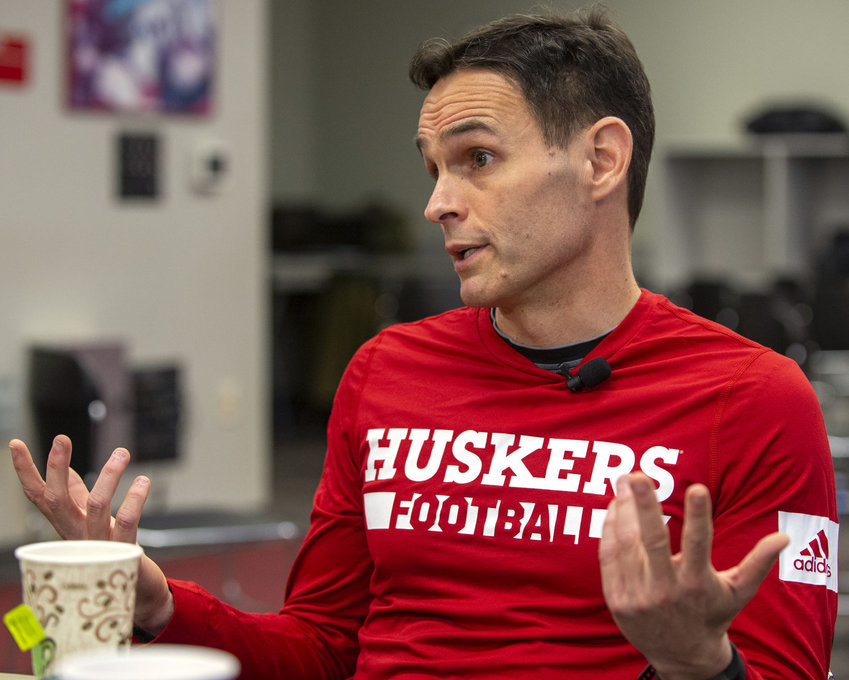 Nebraska offensive coordinator Matt Lubick said Tuesday this week is an open competition week for the Huskers at all positions.