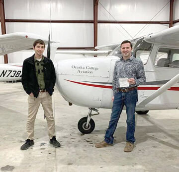 Contributed PhotoColton Crow completed his instrument training and plans on becoming a commercial pilot.