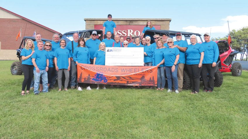 A poker chip ride held on May 1 generated an $8,000 donation to Informed Choices.