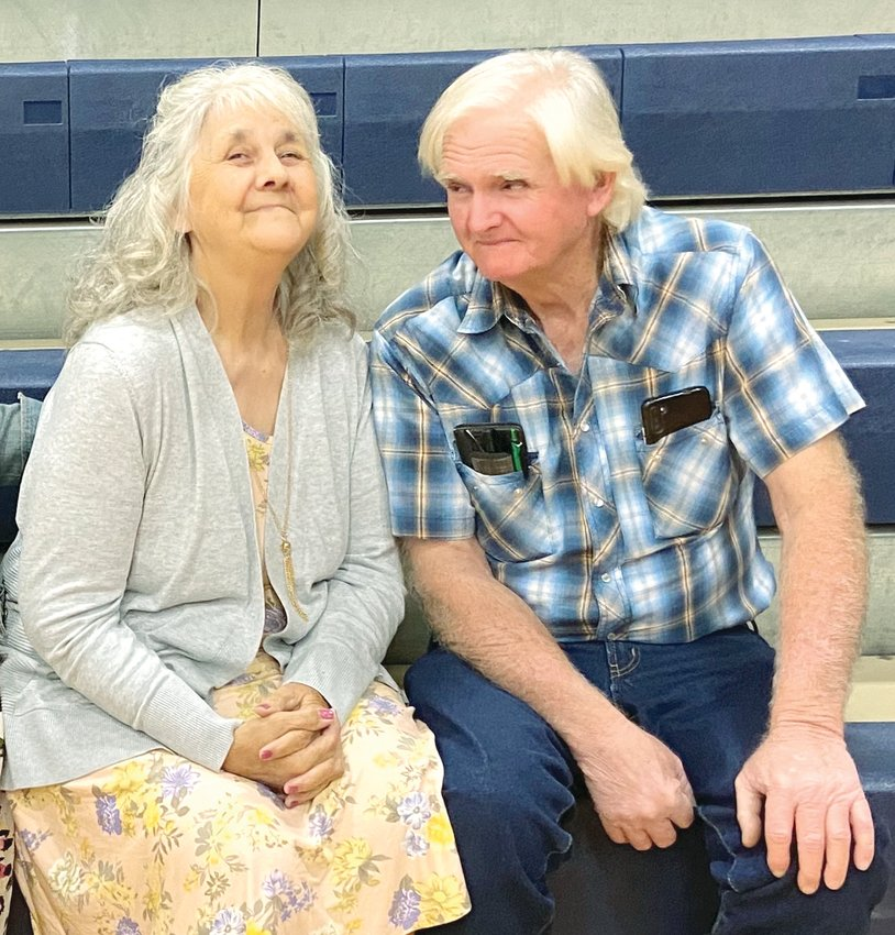 Kary and Debbie Middleton are celebrating their 50th wedding anniversary.