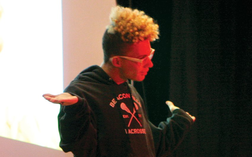 """Hillsboro High School student Trevor Toberman danced his way to the top to win """"MoCo's got Talent,"""" an event produced by the 2019 Montgomery CEO class on Saturday, March 2."""