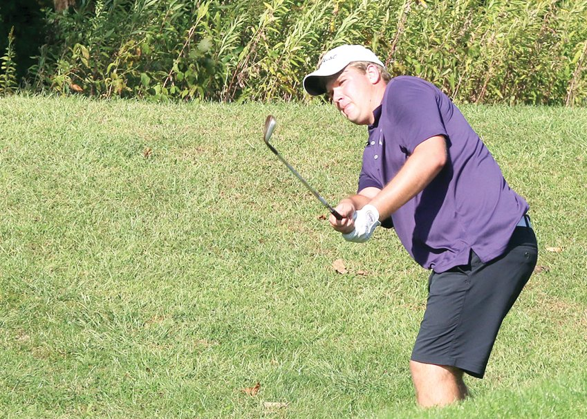 Litchfield senior Anthony Boston made the most of his final South Central Conference Tournament, finishing tied for seventh to earn all-conference honors on Monday, Sept. 30, at Indian Springs Golf Course near Coffeen.