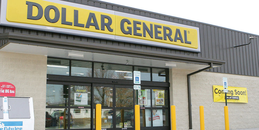 The new Dollar General store in Schram City will be ready to open its doors by Friday morning.