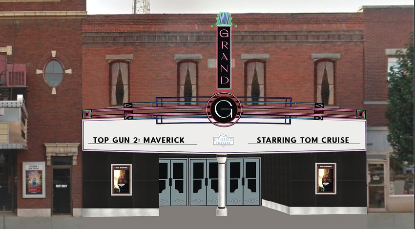 The Eisentraut family of Hillsboro has purchased the building next door, which formerly housed a martial arts studio. They plan to turn it into the Grand Theatre, which will feature a third screen for movies next door to the Orpheum, as well as a stage for live theatre productions.
