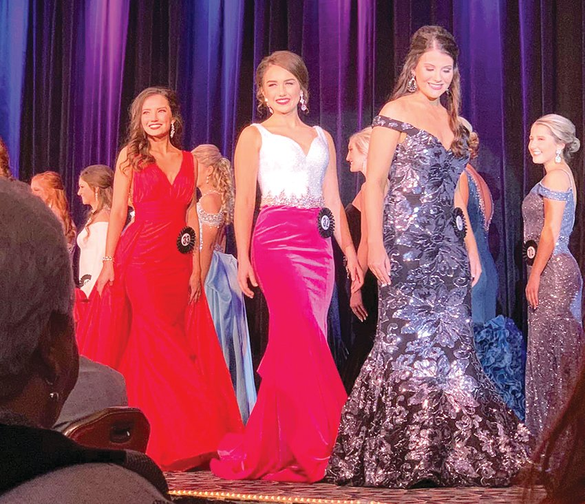 Miss Montgomery County Fair Brielle Marten represented her community at the Miss Illinois County Fair Queen pageant Jan. 16-19 in Springfield.