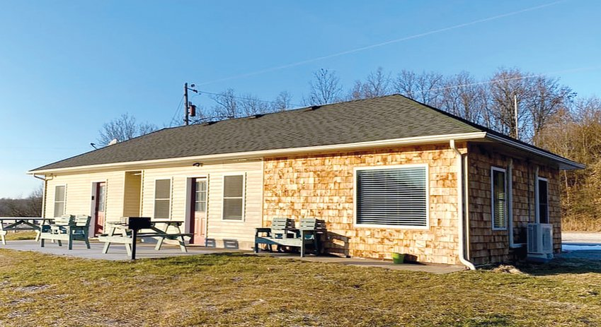 Hillsboro's former Beach House (above) has undergone a major transformation. John and Kendra Wright of Hillsboro took on the large-scale project of renovating the former concession stand into a quaint two unit vacation rental, The Lakehouse by Historic Red Rooster Inn.