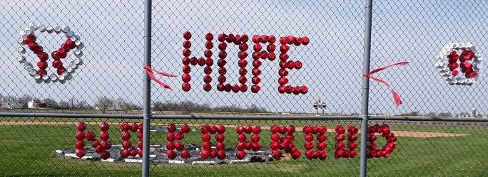 "The message on the backstop at the Nokomis High School baseball field says it all as the Redskins hope what could have been a special season isn't lost to the COVID-19 pandemic. The message, installed by Erin, Audrey and Liv Sabol, features the word ""Hope"" along with two baseballs and the rallying cry of ""Noko Proud."" With 12 returning letter winners and eight seniors, Coach Brian Pesko's team had its sights set on a deep postseason run, and possibly Nokomis' first trip to the state baseball tournament since 1977."