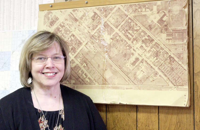During her special trip to Raymond in March, Jan (Bandy) Pinkston visited the Raymond Village Hall to gather some photos. The material she found by rummaging through old photos are the very same memories she's trying to preserve through her online blog.