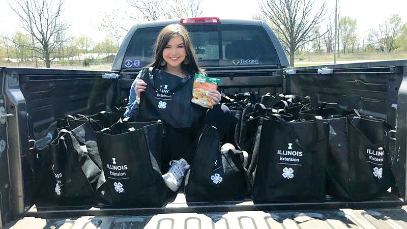 Hillsboro High School senior Erin Kistner is making sure that no student at her school goes hungry. She launched a weekend backpack food program, and has distributed 1,187 meals since the beginning of November.