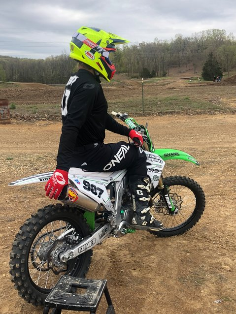 Ethan Chestnut, pictured above, will compete in the Lucas Oil Pro Motocross Championship on Saturday, July 18, at Ironman Raceway in Crawfordsville, IN.