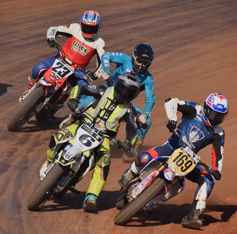 Over the last two months, Hillsboro's Chase Saathoff (#6) has raced in seven different states and has collected several wins and top three finishes on his Huskvarna 450cc motorcycle.