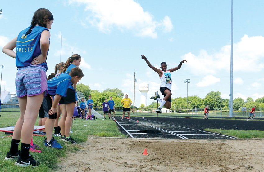 Over the last four years, hundreds of kids have honed their skills at the Litchfield Fellowship of Christian Athletes Power Camp, as Keenan Powell of Litchfield did at the camp in 2018. This year, the camp will be a little different, but organizers hope to reach even more young athletes with a virtual camp on Aug. 3-6.