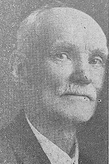 John M. Woods from the front page of the June 20, 1940, edition of The Hillsboro Journal.