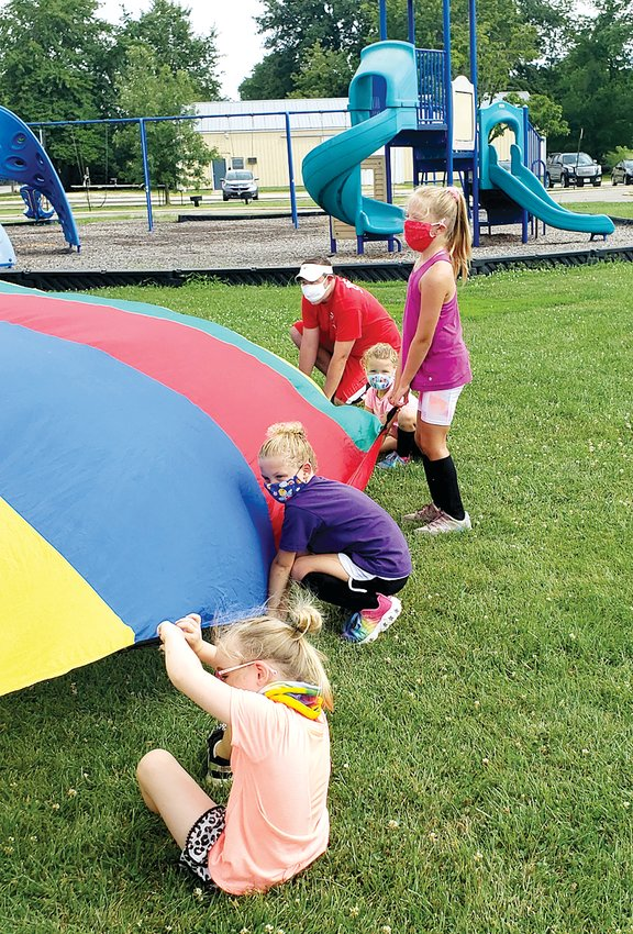 Outdoor activities and masks made the Edwardsville YMCA camps a little different, but still a lot of fun earlier this month as 86 kids from kindergarten through eighth grade enjoyed activities from sports to art to theatre.