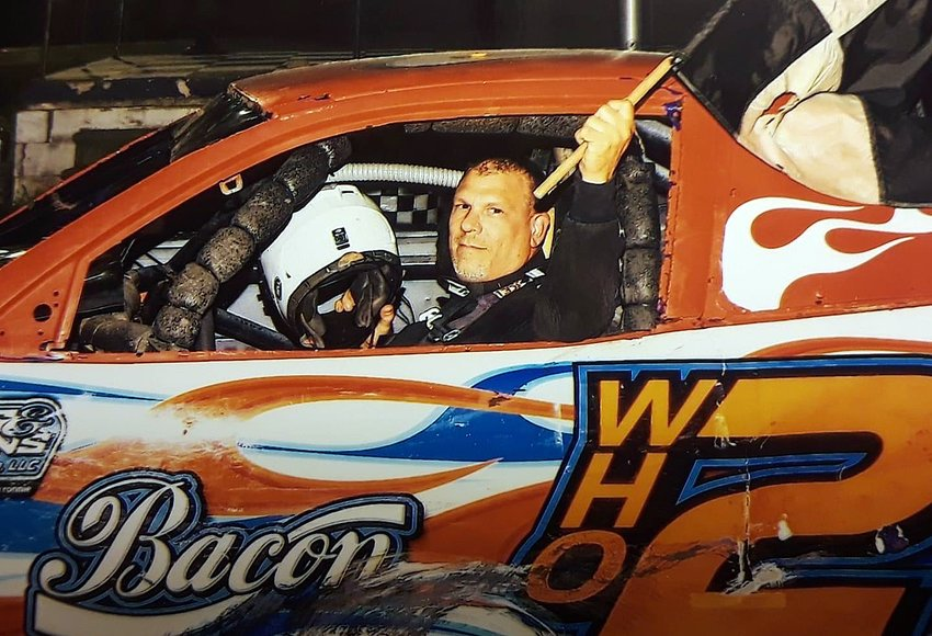 Sorento racer Eldon Hemken picked up his third win in five races on Saturday, Aug. 22, taking the top spot in the Hornet class at Charleston Speedway.