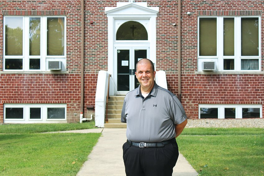 """Missouri native Pierre """"Nic"""" Antoine started as the new principal of St. Louis Catholic School in July, bringing a fresh perspective to the Christian-based institution."""